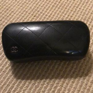 Chanel Quilted Sunglasses Case